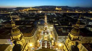 Budapesten van Európa második legjobb karácsonyi vására
