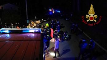 Nyolc embert gyanúsítanak az olasz halálos tömegpánik miatt