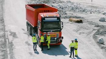 A bányában jól működik az önvezető Volvo
