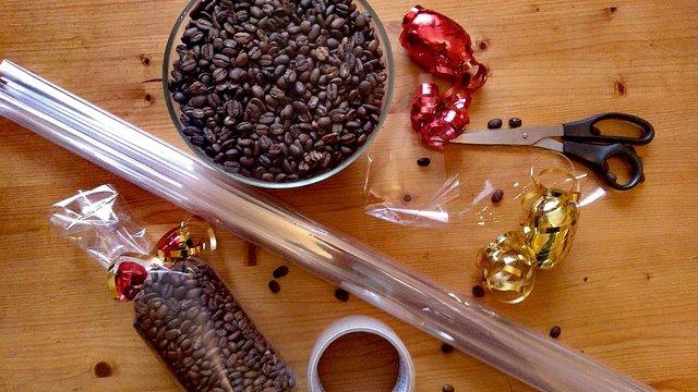 Saját készítésű kávés ajándék ötletelés Karácsonyra