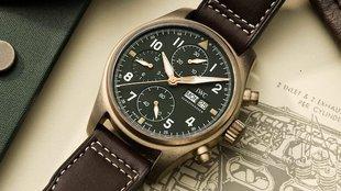 IWC Pilot's Watch 2019-es újdonságok II: Chronograph Spitfire bronz