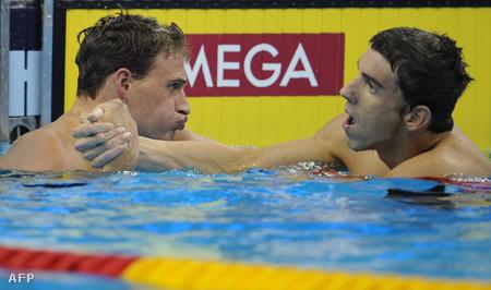 Lochte és Phelps