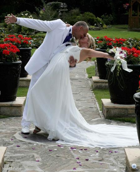 Rod és Julia Rodwell esküvője
