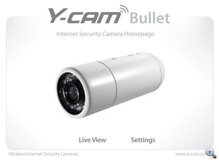 Ez a kép fogad minket, amikor az otthoni hálózaton vagy az internetről bejelentkezünk a kamera adminfelületére.