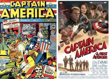 Amerika kapitány 1941-ben és 2011-ben