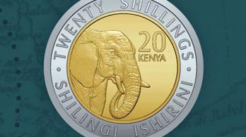 Kenya az elnökök helyett állatokat ver a pénzérmékre