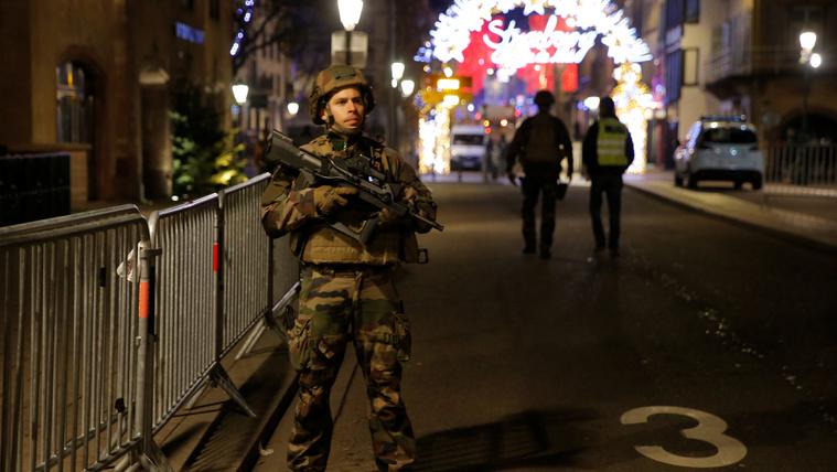 Lövöldözés volt Strasbourg központjában