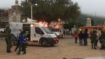 Tűzijáték készlet robbant fel Mexikóban, négy gyerek meghalt