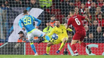 75 millió eurós védés tartotta a BL-ben a Liverpoolt