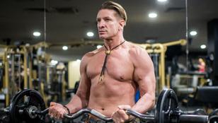 Lefotóztuk Pintér Tibort edzés közben, nézze meg!