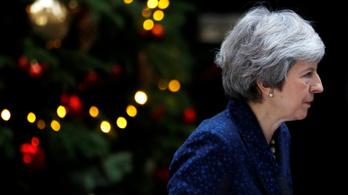 Bizalmi szavazást indítanak Theresa May ellen