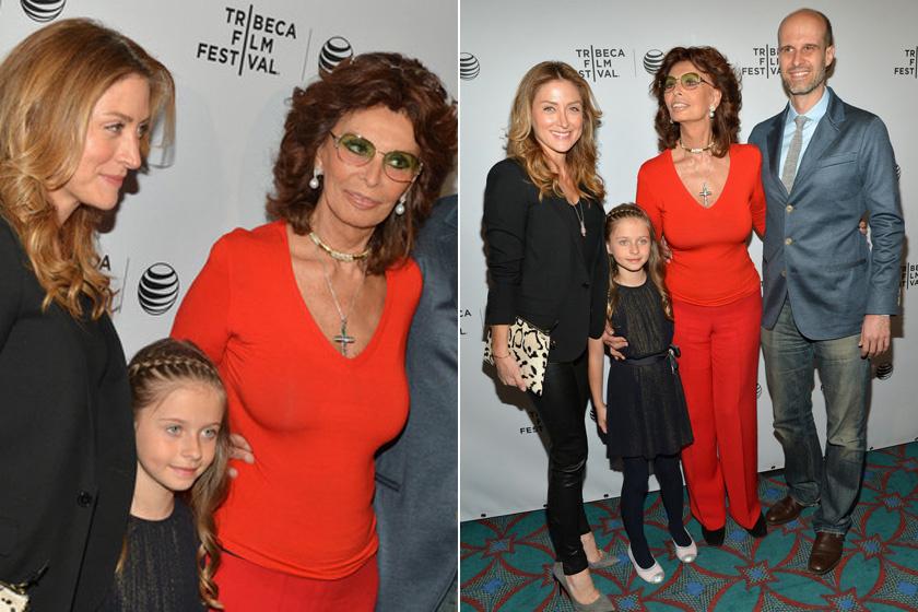Az angyali arcú leányzó nem örökölte nagymamája olaszos vonásait - leginkább édesanyjára, az NCIS sorozatból ismert Sasha Alexanderre hasonlít, aki szintén világos bőrű, világos szemű, szőke hajú hölgy.