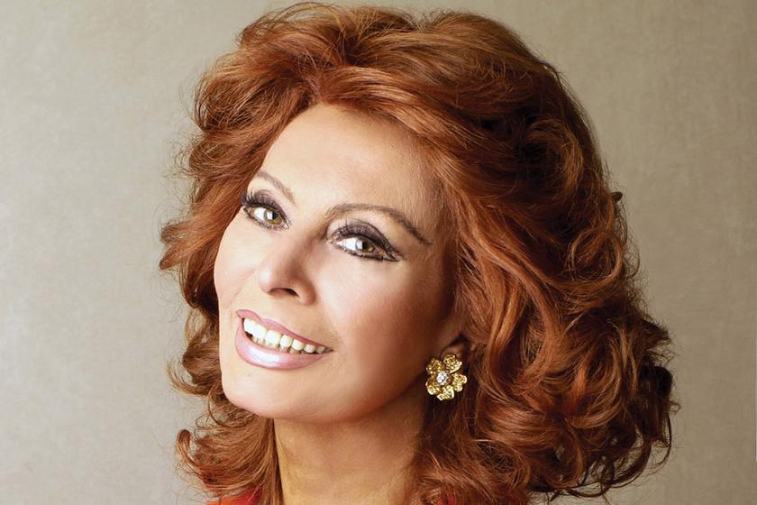 Sophia Loren ritkán látott unokája igazi szőke szépség - Lucia Sofia ilyen bűbájos