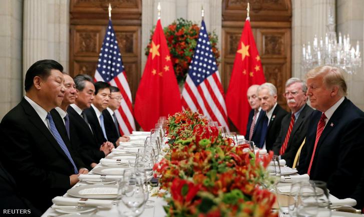 Hszi Csin-ping és Donald Trump Buenos Airesben, 2018. december 1-jén