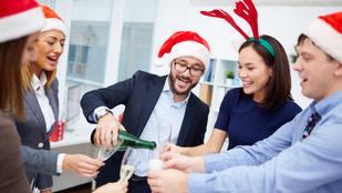 Így ne járasd le magad a céges karácsonyi bulin