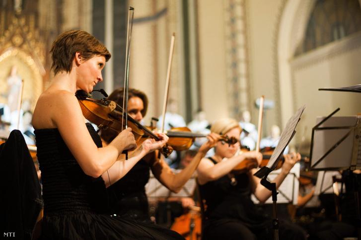 Az Óbudai Danubia Szimfonikus Zenekar tagjai