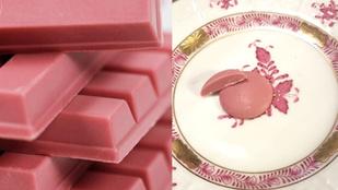 Megkóstoltuk a rózsaszín csokit, és nem, nem eperízű