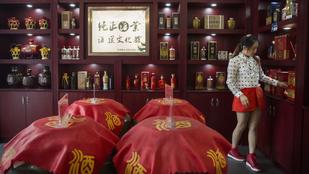 Félmillió forintért egy életre elegendő kínai piát kaphatunk – csak győzzük meginni