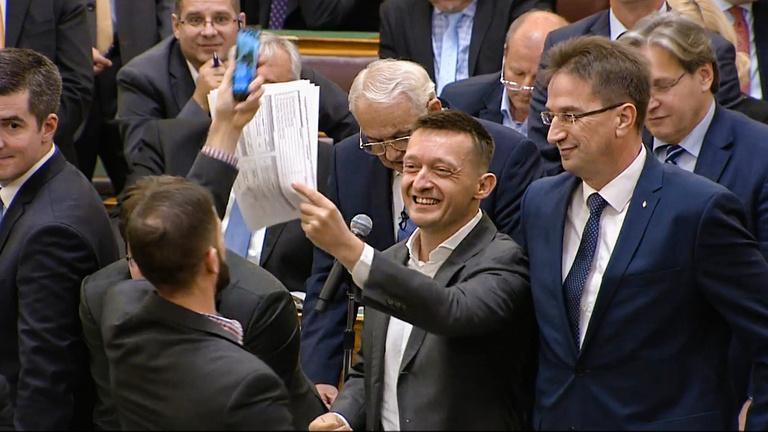 A parlament legjobb, legviccesebb és legkínosabb pillanatai