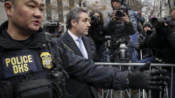 3 év börtönt kapott Michael Cohen, Trump volt ügyvédje