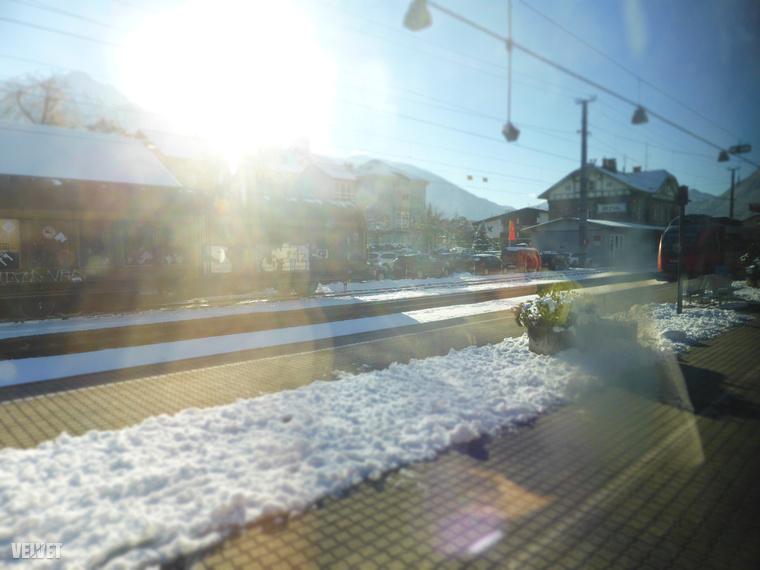 Ez az Ötz-völgy vasútállomása