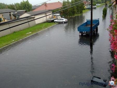 24 óra alatt 30 miliméternél is több csapadék hullhat (fotó:nyugatmagyar.hu)