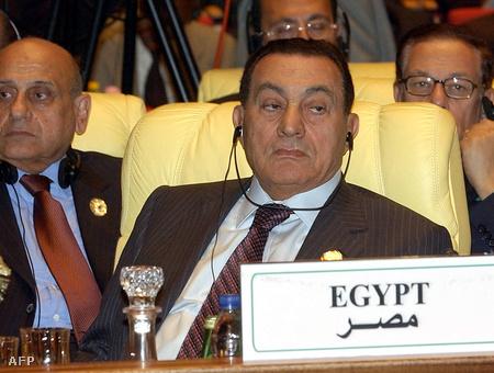 Mubarak 2004-ben