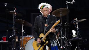 Keith Richards 74 évesen hagyta abba a rendszeres ivást