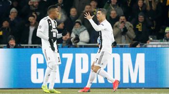 Káprázatos gólt vettek el Ronaldo nyughatatlansága miatt