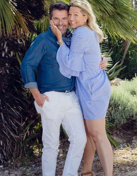 Thomas Anders és felesége, Claudia Hess nagyon kiegyensúlyozott házasságban élnek.