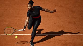 Serena áttörte a falat: védettséget kapnak a szülő teniszjátékosok