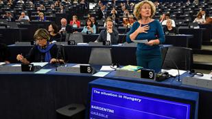 Együtt tüntet kedden magyar ellenzéki politikusokkal Judith Sargentini Brüsszelben