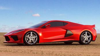 Késik az új Chevrolet Corvette