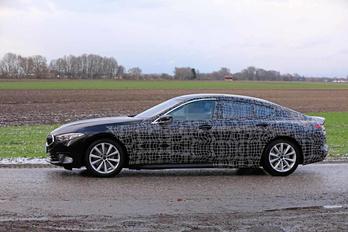 Lelepleződött a négyajtós 8-as BMW