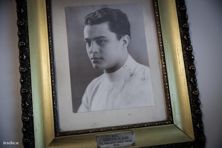 Édesapja, Gerevich Aladár fényképe 1932-ből