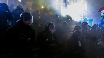 A körúton ért véget a Kossuth téri tüntetés