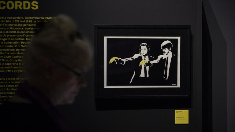 Banksy ledarált egy millió dolláros képet, de most őt darálták le