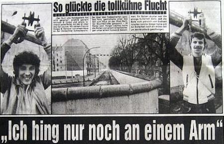 Holger Bethke drótkötélpályán lógott meg