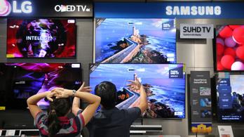Világcsúcsot döntenek az OLED tévék