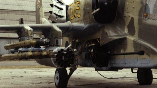A Ka-50 harci helikopter fegyverzete
