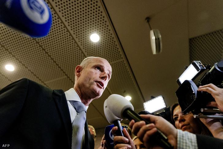Stef Blok holland külügyminiszter