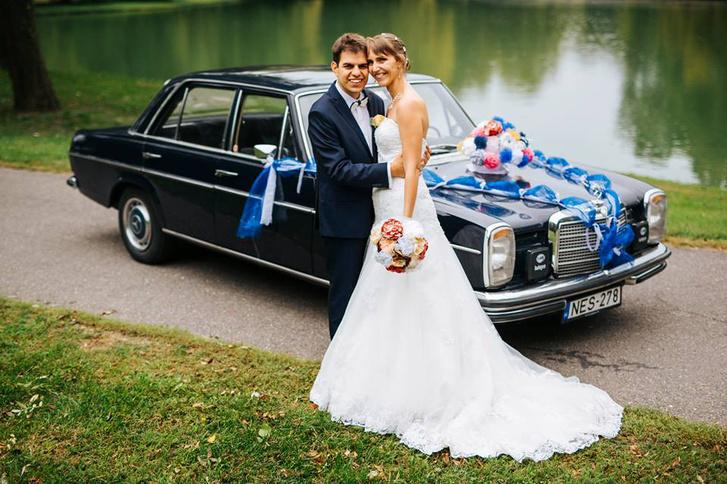 Bencéék esküvőjén