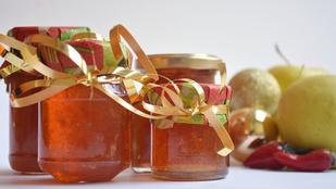 Gasztroajándék: pikáns, almás csilizselé