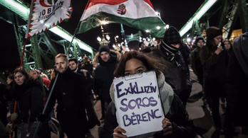 Thousands marching against Orbán's government in Budapest on Friday night