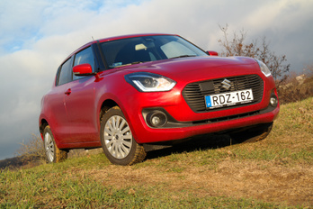 Mire képes a Suzuki Swift terepen?