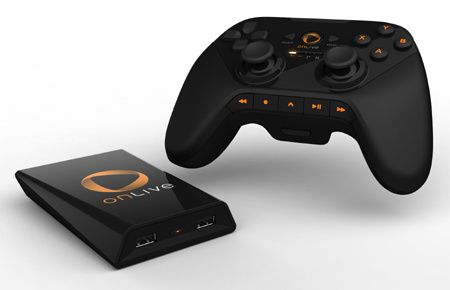 OnLive MicroConsole and Wireless Controller