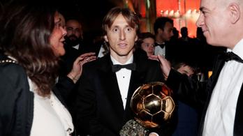 Modric: Ez nem volt fair Messitől és Ronaldótól