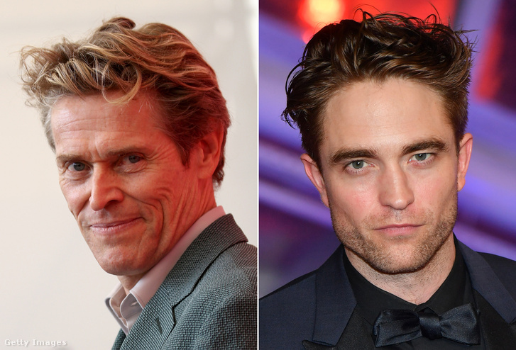 Willem Dafoe és Robert Pattinson