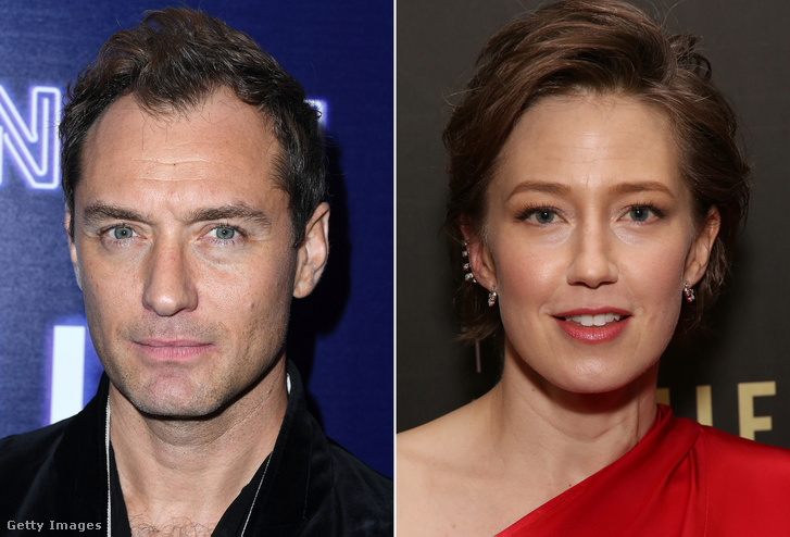 Jude Law és Carrie Coon