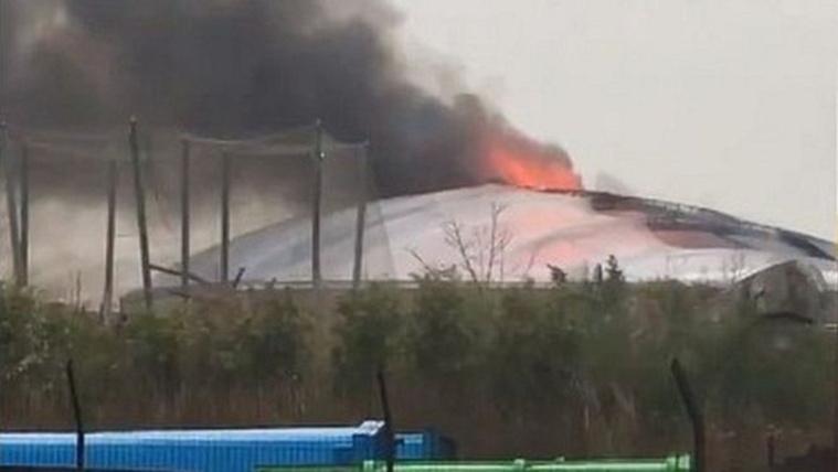 Tűz ütött ki a Chester Zoo biodómjában